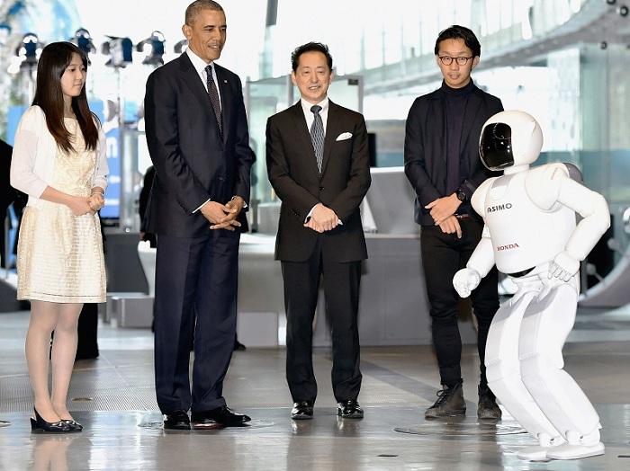 Honda's human-like robot