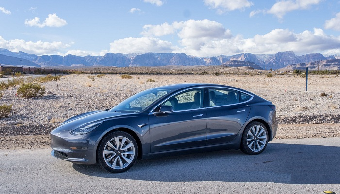 2019 Tesla Model 3 (Best-selling car in Netherlands and Norway)