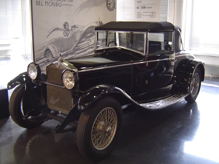 Alfa Romeo museum, Museo Storico Alfa Romeo