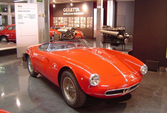 1954 Spider 1900 Sport