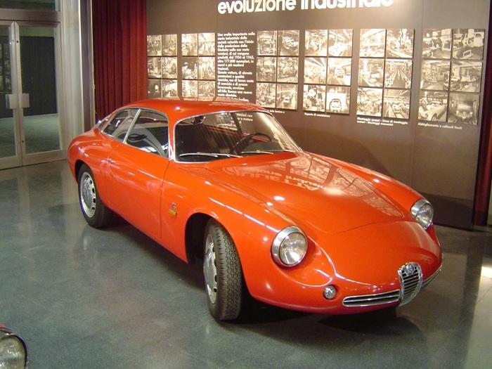 1960 Giulietta Coda Tronca