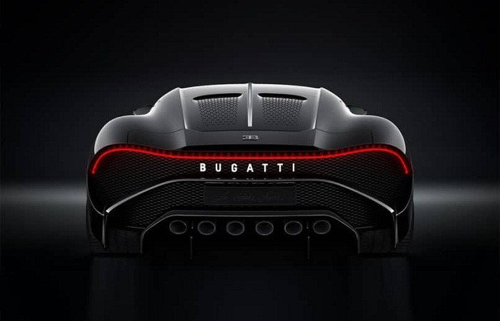 the most expensive cars in the world - Bugatti la Voiture Noire Price