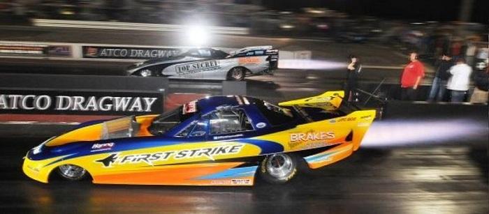 Drag racing cars