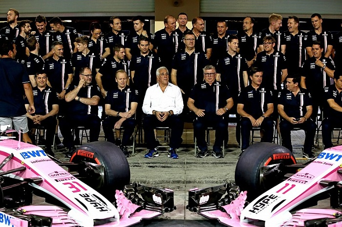 Lawrence Stroll Force India