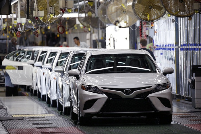 Toyota's production in China