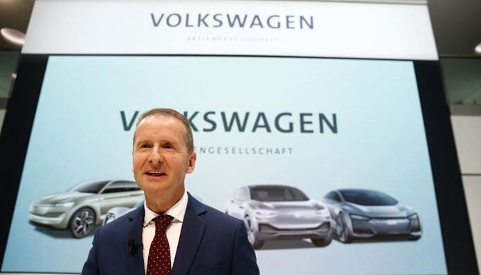 Volkswagen CEO Herbert Diess Said That The Cost of….