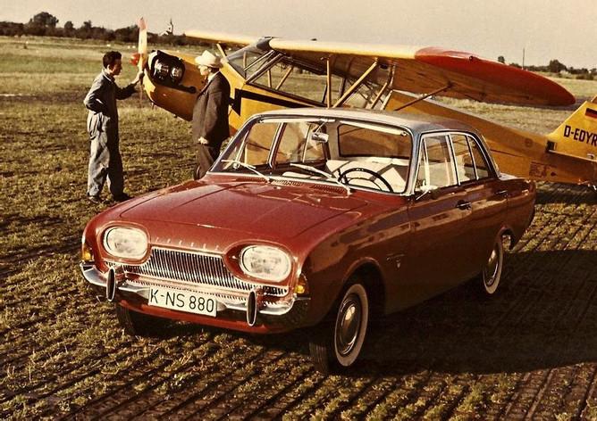 ford taunus 17m, 1961