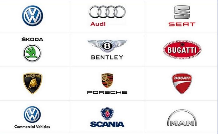 volkswagen group brands