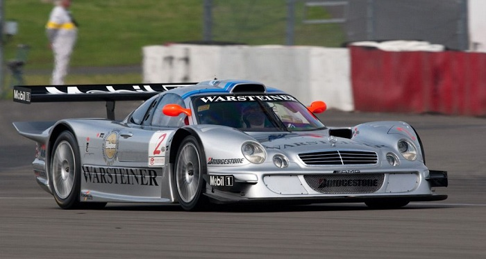 Most Expensive Mercedes Cars List - CLK LM Starben Version