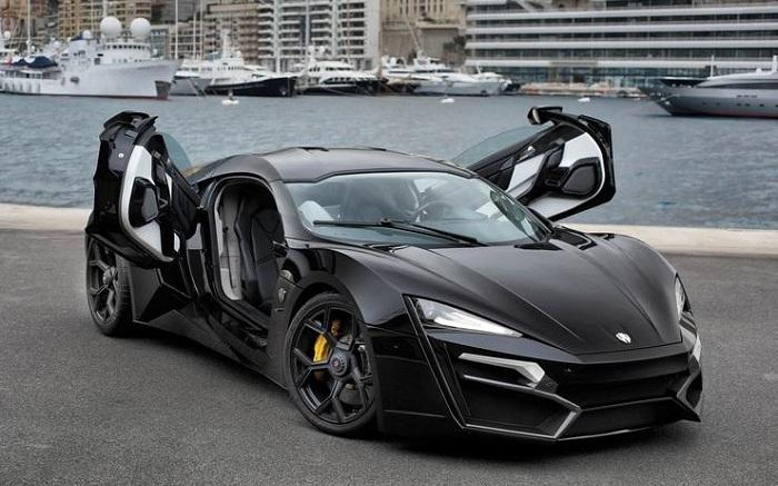 Lykan Hypersport black