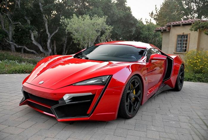 Lykan Hypersport red