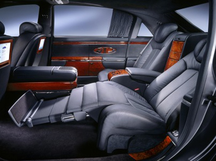 Mercedes Maybach Exelero Interior